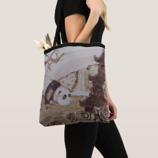 Tote Bag Bath paresseux de panda
