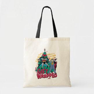 Tote Bag Batman | Batman et cadeau de Robin enveloppé à
