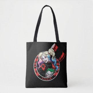 Tote Bag Batman | Harley Quinn clignant de l'oeil avec le