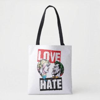 Tote Bag Batman | Harley Quinn et amour de joker/haine