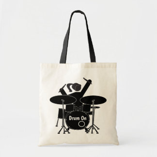 Tote Bag Batteur féminin illustré