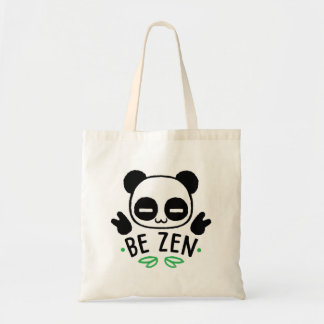 Tote Bag Be Zen