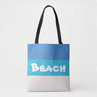 Tote Bag Beach! The Caribbean Sea Bag