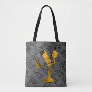 Tote Bag Beauté et la bête   Lumière Silouette