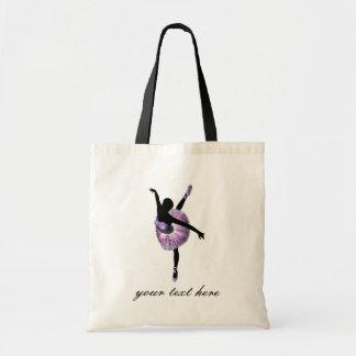 Tote Bag Belle ballerine dans le pourpre