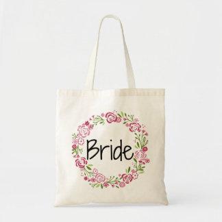 Tote Bag Belle jeune mariée Fourre-tout floral