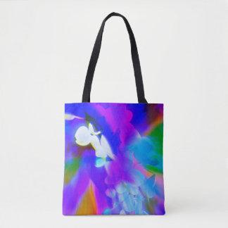 Tote Bag Belle orchidée fourre-tout dans des couleurs