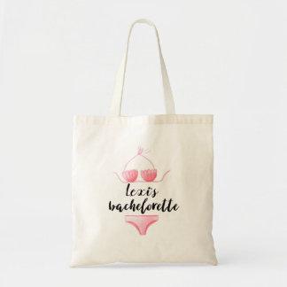 Tote Bag Bikini Bachelorette personnalisé