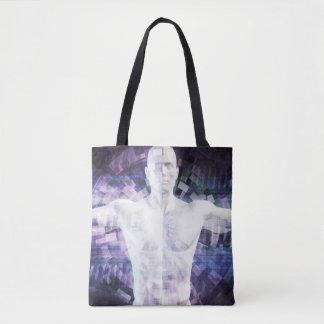 Tote Bag Biotechnologie du futur résumé comme art