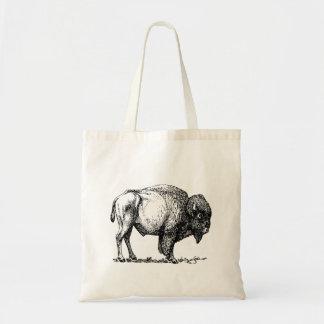 Tote Bag Bison américain de Buffalo