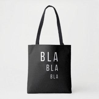 Tote Bag Bla Bla Bla