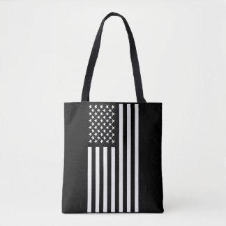 Tote Bag Blanc de drapeau américain