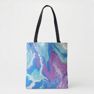 Tote Bag Bleu Fourre-tout de lavande