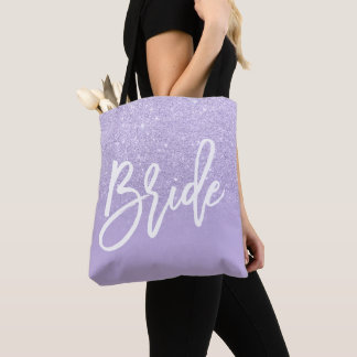 Tote Bag Bloc pourpre de couleur d'ombre de parties