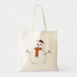Tote Bag Bonhomme de neige