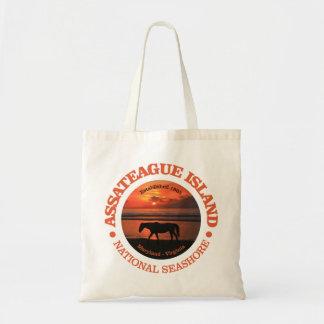 Tote Bag Bord de la mer de ressortissant d'île d'Assateague