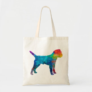 Tote Bag Border Terrier in watercolor