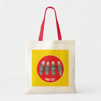 Tote Bag Bougies d'allumage de moteur