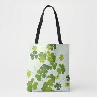 Tote Bag Bouquet de shamrock, le jour de St Patrick