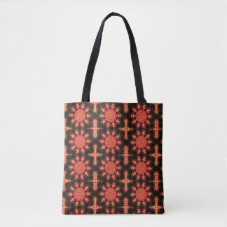 Tote Bag Bourgeons de kaléidoscope