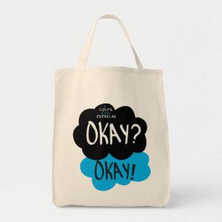 Tote Bag Bourse d'Achats la Faute est des Étoiles Okay Okay