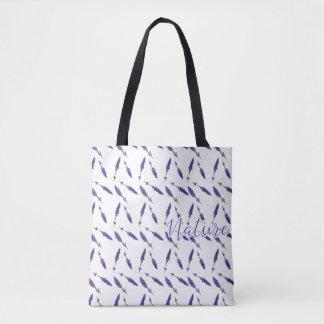 Tote Bag Bourse de Toile - Nature Lavande -