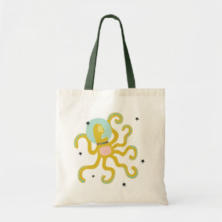 Tote Bag Bourse poulpe monstre