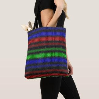 Tote Bag Bourse Tote Colorié et Noir