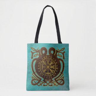 Tote Bag Boussole de navigation de Vegvisir - de Viking