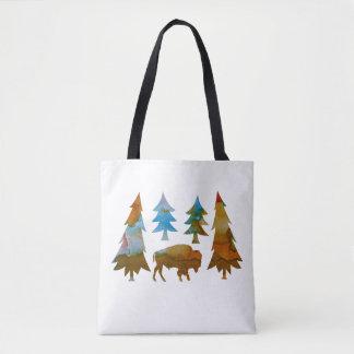 Tote Bag Buffalo/bison