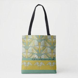Tote Bag Cadeau de demoiselle d'honneur de conception de