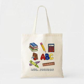 Tote Bag Cadeau de enseignement personnalisé Fourre-tout de