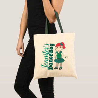 Tote Bag Cadeau personnalisé de considérant de danseur de