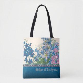 Tote Bag Cadeau préféré de demoiselle d'honneur de fleurs