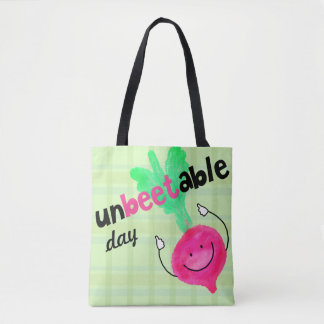 Tote Bag Calembour positif de betterave - Unbeetable