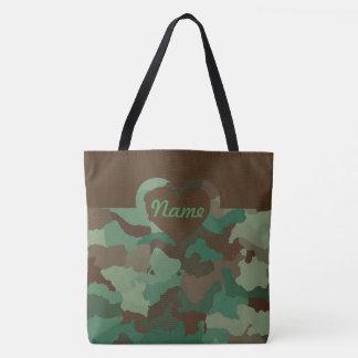Tote Bag Camo personnalisable pour grand