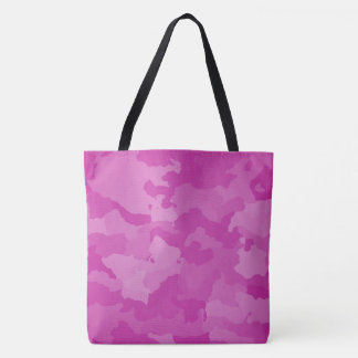 Tote Bag Camo rose