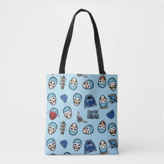 Tote Bag Capitaine Boomerang Emoji Pattern du peloton | de