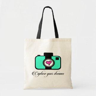 Tote Bag Capturez votre appareil-photo fourre-tout de rêves