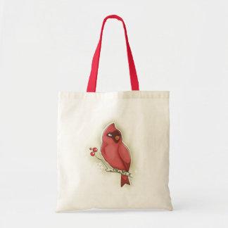 Tote Bag Cardinal et canneberge fourre-tout