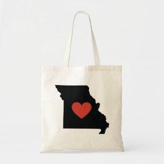 Tote Bag Cartable ou voyage Fourre-tout d'amour d'état du