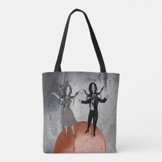 Tote Bag Célébration de danse d'aliens