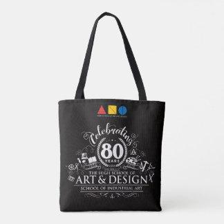 Tote Bag Célébration fourre-tout d'A&D SIA quatre-vingtième
