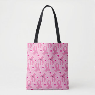 Tote Bag Célébrez l'événement rose
