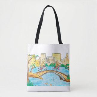 Tote Bag Central Park fourre-tout de tour de Rhodesian