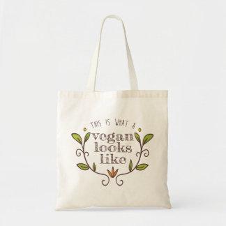 Tote Bag C'est quel végétalien regarde comme I