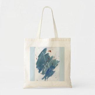 Tote Bag Chaîne de montagne bleue