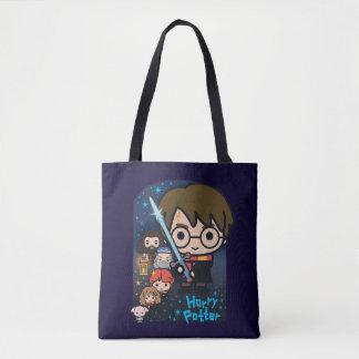 Tote Bag Chambre de Harry Potter de bande dessinée des