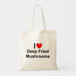 Tote Bag Champignons cuits à la friteuse