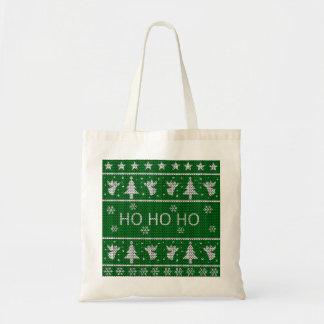 Tote Bag Chandail laid de Noël